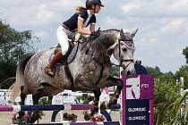 Francesca Kolowrat-Krakowska. Světový pohár CSI*** Olomouc. Závody pro šestileté a sedmileté koně.