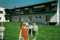 Vizualizace nového azylového domu v Dalově u Šternberka. Zdroj: MěÚ Šternberk