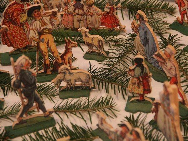 Výstava betlémů Josefa Novotného vDubu nad Moravou