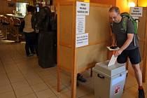 Eurovolby v restauraci v Moravském Berouně