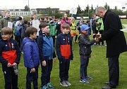 Třetí místo na turnaji mladších žáků braly Hranice.