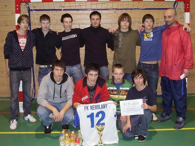 Vítězný tým dorostu Nemilan.