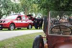 Slavnostní otevření hasičské zbrojnice ve Chválkovicích