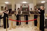 Kupujícím na Kabelkovém veletrhu zahráli i flétnistky Black Ladies