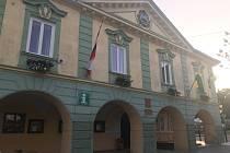 Radnice v Moravském Berouně.