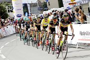 V Dolanech u Olomouce finišovala závěrečná čtvrtá etapa závodu Czech Cycling Tour