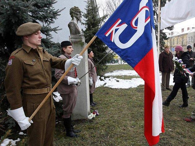 Setkání Župního vzdělávacího sboru k připomenutí výročí a k uctění zakladatelů Sokola v Olomouci