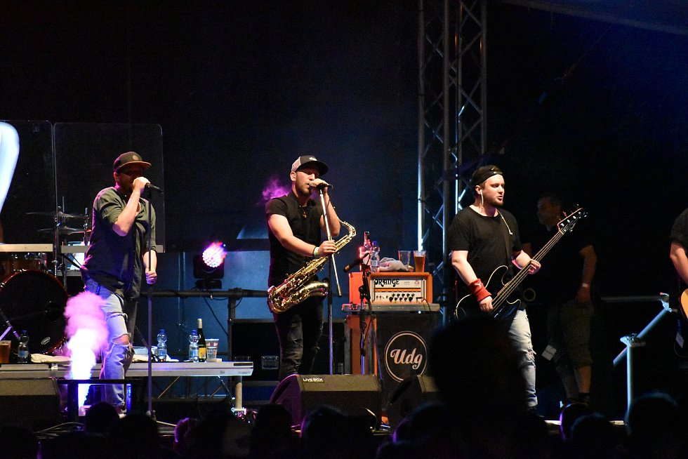 Festival Šternberský kopec 2021. Kapela UDG.