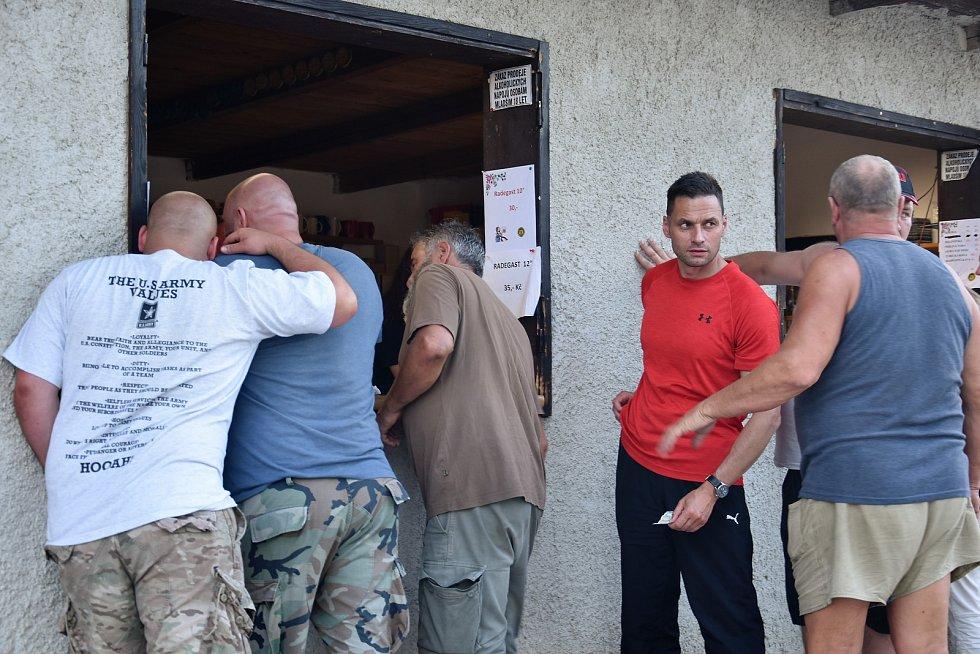 Sraz vojensko-historických vozidel ve Vojnicích, 19.-21. 7. 2019