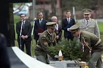 Pietní akt při příležitosti výročí vypálení obce Javoříčko