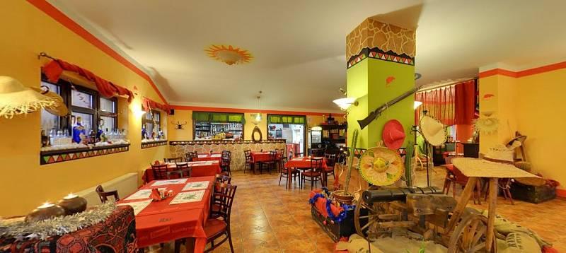 Mexická Restaurace RED RAT STEAK, Šumperk