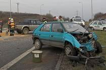 Vážná nehoda u Lipníka. Ilustrační foto.
