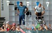 Mladé plavecké naděje na prázdninovém kempu v Olomouci.Martin Verner