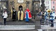 Tři králové vyrazili do ulic Olomouce.