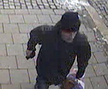 Muž podezřelý zpřepadení směnárny na třídě Svobody vOlomouci