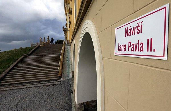 Návrší Jana Pavla II. ubazilky na Sv. Kopečku