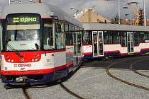 Nákup moderních tramvají pro olomouckou MHD je jedním z projektů financovaným z Integrovaných teritoriálních investicí (ITI). Ilustrační foto