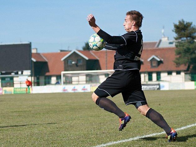 Fotbalisté 1. HFK Olomouc (v černém). Ilustrační foto