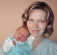 Michal Kroutil, Litovel, narozen 20. dubna ve Šternberku, míra 50 cm, váha 3140 g