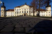 Areál Vojenské nemocnice Olomouc na Klášterním Hradisku. Ilustrační foto