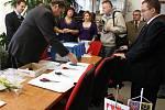 Generálka státních maturit na Sigmundově střední škole strojírenské v Lutíně