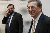 Martin Tesařík (ČSSD) a Pavel Horák (KDU-ČSL)