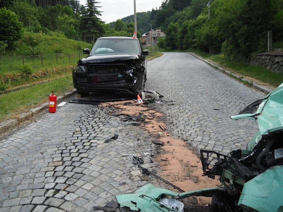 U Olšan v neděli zemřel třiapadesátiletý řidič fabie.