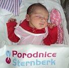 Emma Krannichová, Zábřeh, narozena 13. února ve Šternberku, míra 49 cm, váha 3060