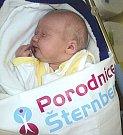 Dominik Tilšar, Bělkovice narozen 22. října míra 50 cm, váha 3620 g