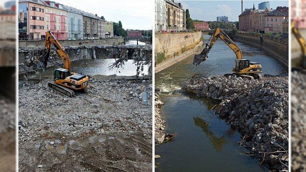 Bourání mostu u Bristolu - jak šel čas