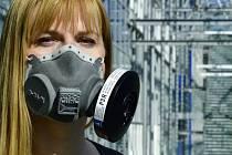 Externí filtry do ochranné polomasky s nejvyšším stupněm bezpečnosti FFP3 vyrábí společnost Sigma Group z Lutína.