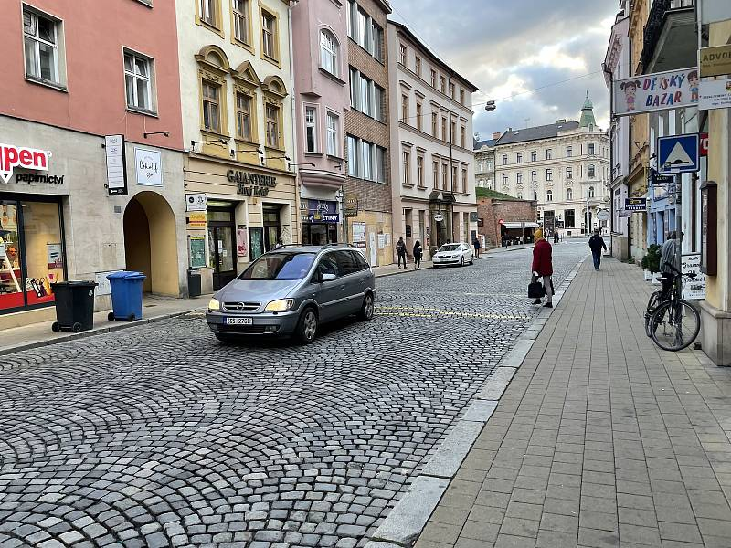 Pavelčákova ulice. 13. října 2021