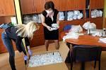 Distribuce velké zásilky respirátorů úrovně FFP2, které se podařilo zajistit městu Olomouc  na Česká lékařské komoře.