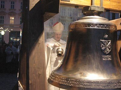 Svěcení zvonu