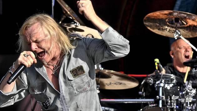Bristká rocková legenda Uriah Heep na koncertu v roce 2012