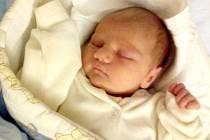 Vojtěch Bardoň, Uničov, narozen 28. prosince 2017 v Olomouci, míra 50 cm, váha 4090 g