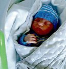 Daniel Dostál, Olomouc narozen 23. února míra 51 cm, váha 3520 g