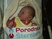František Straka, Šternberk, narozen 22. ledna, míra 52 cm, váha 4260 g