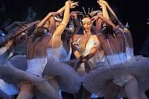 Balet v Moravském divadle. Ilustrační foto