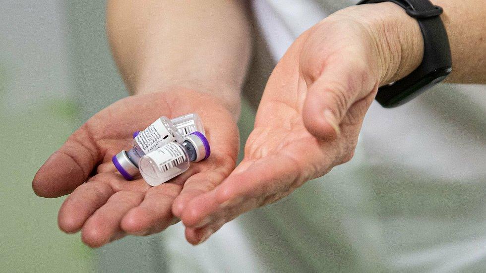 Očkování proti covidu. Ilustrační foto