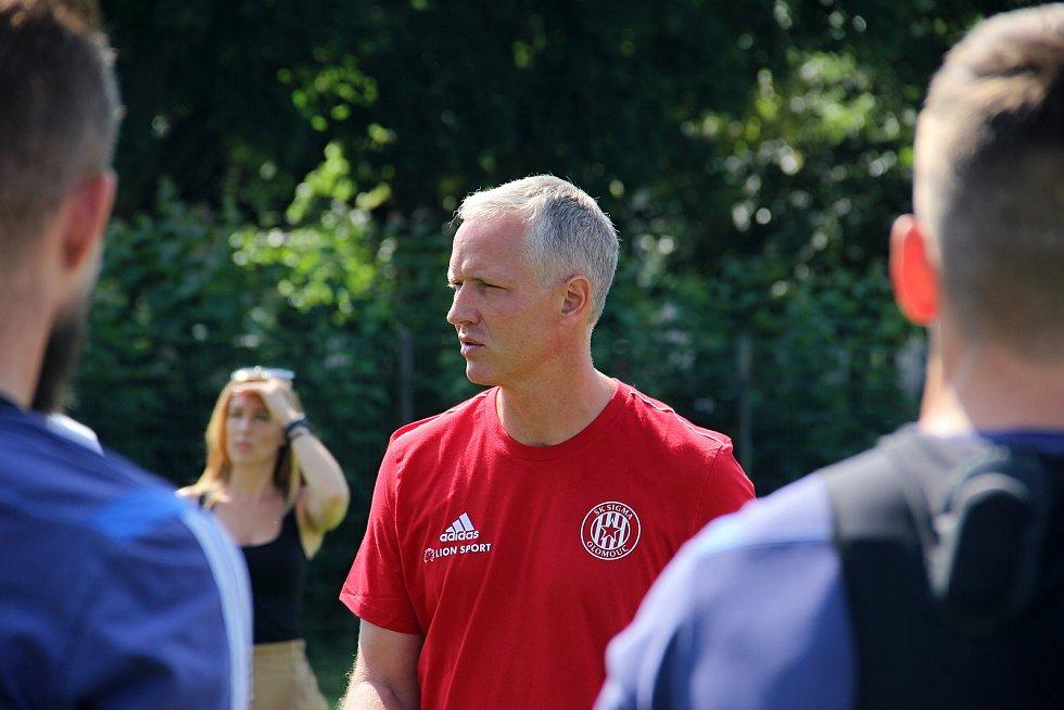 Fotbalová Sigma Olomouc zahájila přípravu na novou sezonu.Václav Jílek