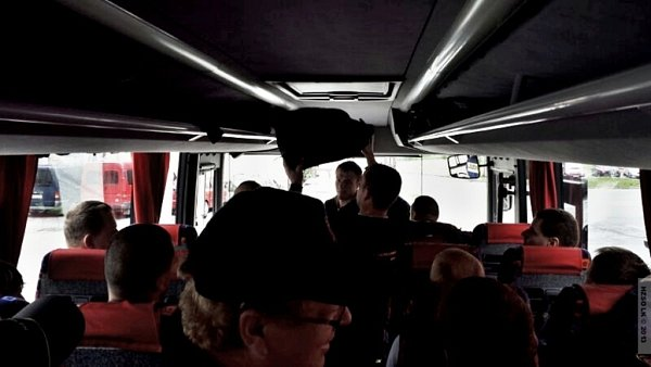 Výjezd hasičů zOlomouckého kraje na pomoc Praze
