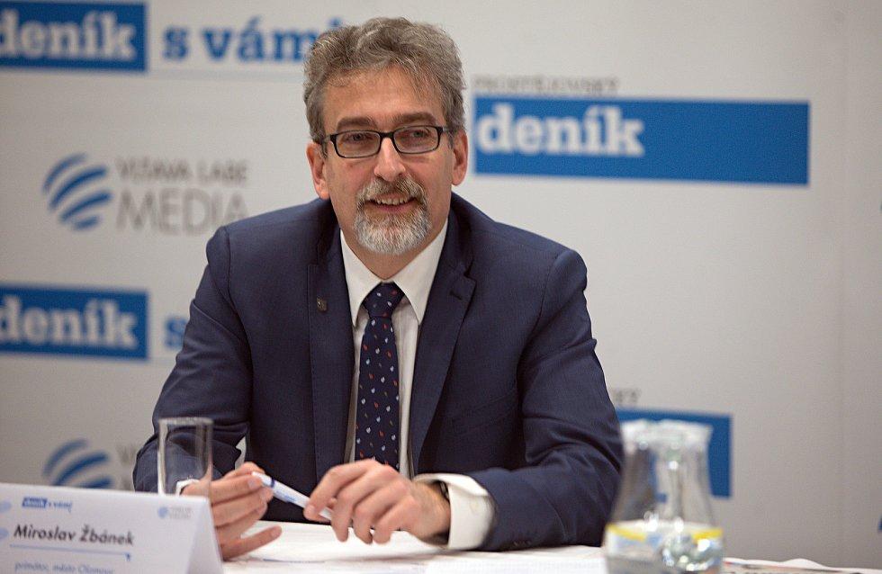 primátor Olomouce Miroslav Žbánek