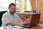 Petr Nádvorník, vedoucí a zástupce provozovatele olomouckého kempu Krásná Morava