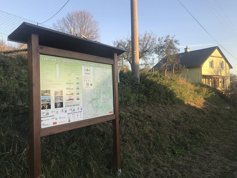 Pohořany, místní část Dolan, jsou pro dojezdovou vzdálenost a krásné okolí vyhledávanou rekreační destinací Olomoučanů, 6. listopadu 2020