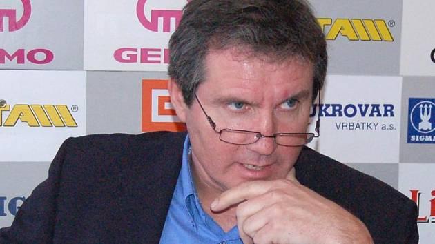 Sportovní ředitel SK Sigma Jiří Kubíček.