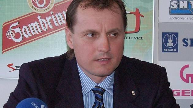 Trenér Martin Pulpit.