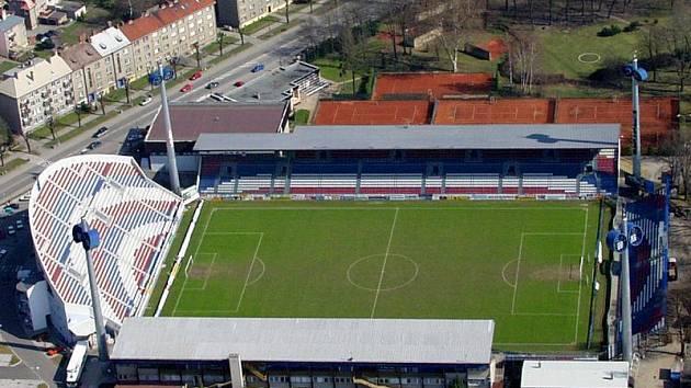 Andrův stadion v Olomouci.