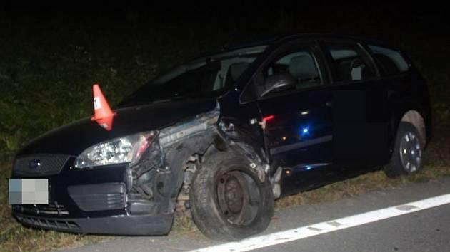 Noční nehoda mezi Uničovem a Šumvaldem, 16. 9. 2020