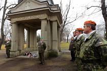 Den veteránů na historickém vojenském hřbitově Černovír